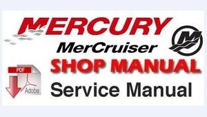 mercury mercruiser marine engines number 13 gm 4 cylinder service repair workshop manual download