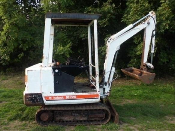 Bobcat X220 Hydraulic Excavator Service Repair Workshop Manual DOWNLOAD (S/N 508211999 & Below)