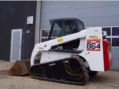 Bobcat 864, 864 High Flow Skid Steer Loader Service Repair Manual DOWNLOAD (S/N 516911001 & Above)