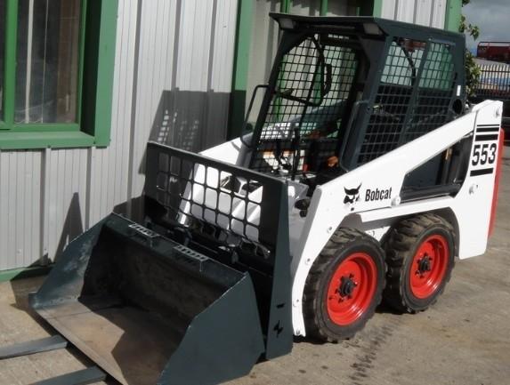 Bobcat 553 Skid Steer Loader Service Repair Manual DOWNLOAD ( S/N 539112001 , 539412001 & Above )