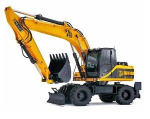 JCB JS200W Auto Tier III Wheeled Excavator Service Repair Manual