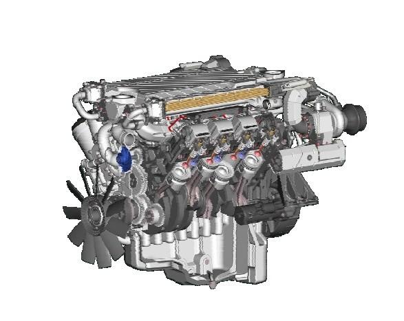 Liebherr D9508 A7 Diesel Engine Service Repair Workshop Manual DOWNLOAD