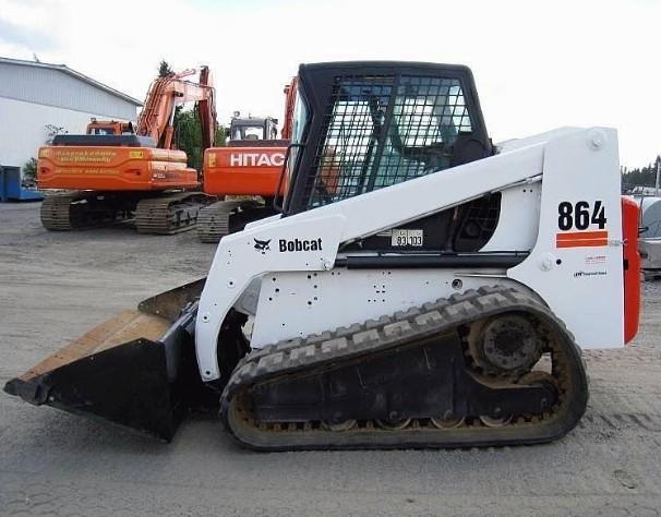 Bobcat 864, 864 High Flow  Loader Service Repair Manual (S/N 518911001-518914999...)