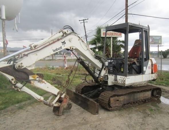 Bobcat 116 Hydraulic Excavator Service Repair Workshop Manual DOWNLOAD
