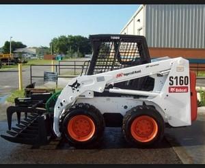 Bobcat S150, S160 Skid - Steer Loader Service Repair Workshop Manual DOWNLOAD