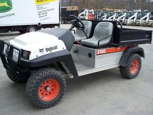 Bobcat 2100, 2100S Utility Vehicle Service Repair Manual (S/N 522711001 , 524411001 & Above)