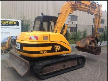 JCB JS70 Tracked Excavator Service Repair Workshop Manual DOWNLOAD