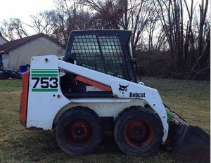 Bobcat 753 Skid Steer Loader (INCLUDES HIGH FLOW OPTION) Service Repair Workshop Manual DOWNLOAD