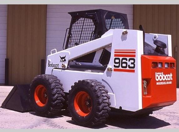 Bobcat 963 Skid Steer Loader Service Repair Workshop Manual DOWNLOAD