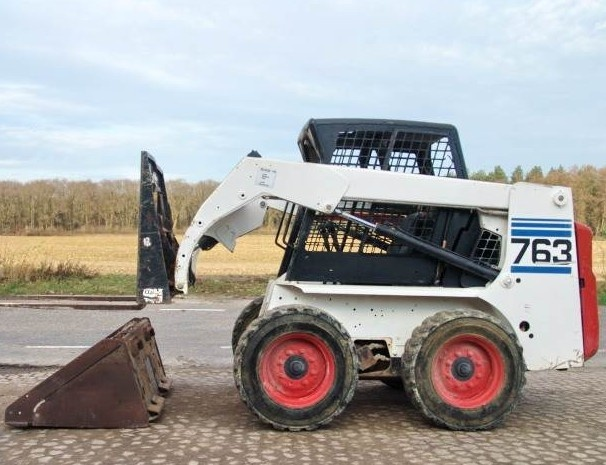 Bobcat 763, 763 HIGH FLOW Skid Steer Loader Service Repair Workshop Manual DOWNLOAD