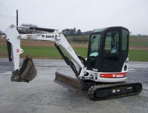 Bobcat 430 Compact Excavator Service Repair Manual DOWNLOAD (S/N AA8711001 & Above)