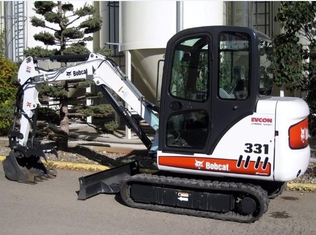 Bobcat 331, 331E, 334 Hydraulic Excavator (D Series) Service Repair Manual (S/N 232511001 & Above)