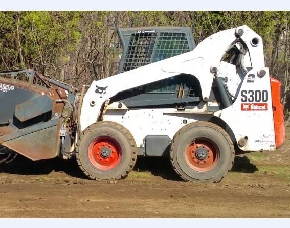 Bobcat S250, S300 Skid - Steer Loader Service Repair Manual DOWNLOAD (S/N A5GM20001 & Above)