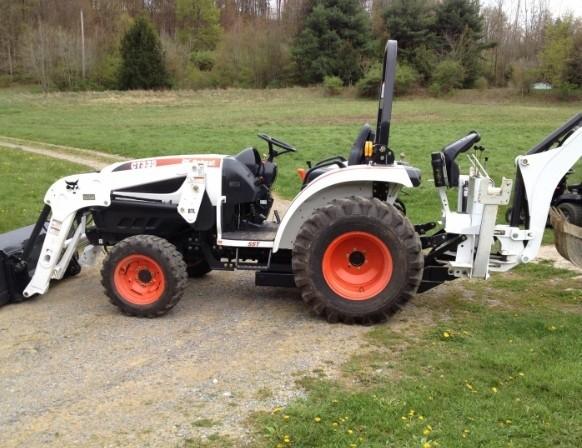 Bobcat CT335 Compact Tractor Service Repair Manual (S/N ABH811001 & Above, S/N AK9G11001 & Above)