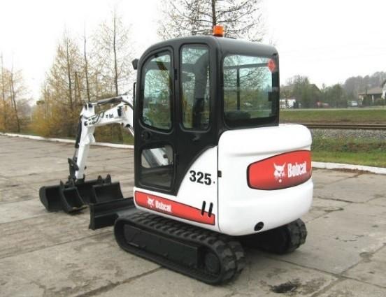 Bobcat 325, 328 Hydraulic Excavator Service Repair Manual DOWNLOAD (S/N AAC511001 & Above...)