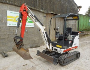 Bobcat 323 Compact Excavator Service Repair Workshop Manual DOWNLOAD (S/N A9JZ11001 & Above)