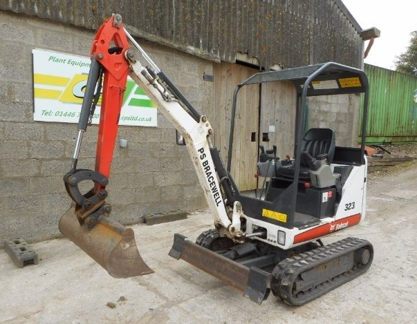 Bobcat 323 Compact Excavator Service Repair Workshop Manual DOWNLOAD (S/N A9JZ11001 & Above)