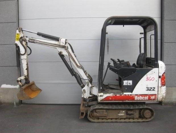 Bobcat 320, 322 Hydraulic Excavator (G Series) Service Repair Manual (S/N 223911001 & Above...)