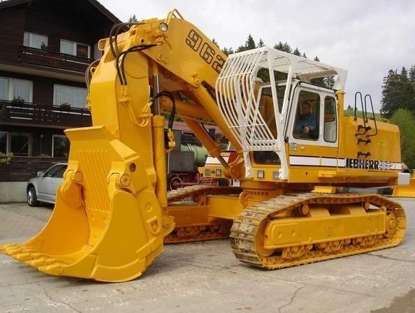 Liebherr R952 R962 R972 R982 Excavator Service Repair Workshop Manual DOWNLOAD