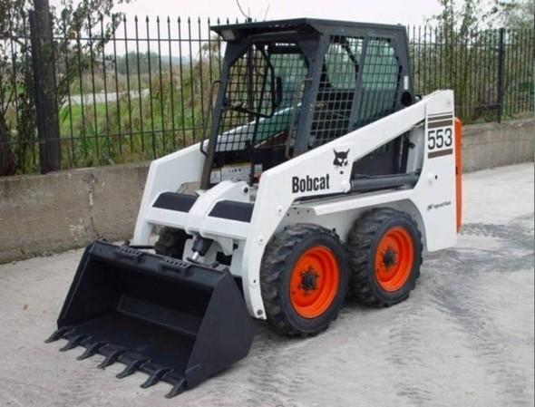 Bobcat 553 Skid Steer Loader Service Repair Manual DOWNLOAD ( S/N 528011001 , 528111001 & Above )