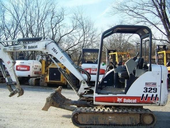 Bobcat 329 Compact Excavator Service Repair Manual DOWNLOAD (S/N A2PG11001 & Above)