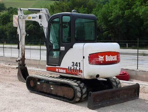 Bobcat 337 341 Mini Excavator Service Repair Manual DOWNLOAD ( S/N 234611001, 234711001 & Above )