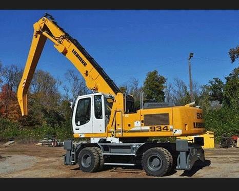 Liebherr A934C A944C-HD A954C-HD Litronic Hydraulic Excavator Service Repair Manual DOWNLOAD