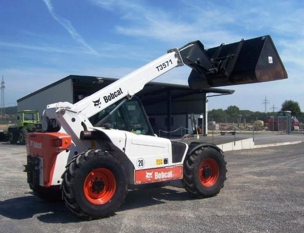 Bobcat T3571, T3571L Telescopic Handler Service Repair Manual (S/N A8HF11001 , A8H611001 & Above)
