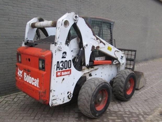 Bobcat A300 Turbo, A300 Turbo High Flow Skid Steer Loader Service Repair Manual S/N 526411001...