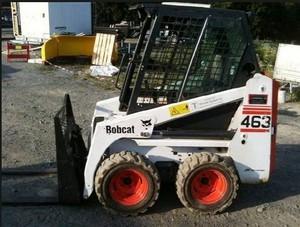 Bobcat 463 Skid Steer Loader Service Repair Manual DOWNLOAD( S/N 520011001 ,  519911001 & Above )