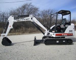 Bobcat 331, 331E, 334 Hydraulic Excavator (G Series) Service Repair Manual (S/N 234313000 & Above)