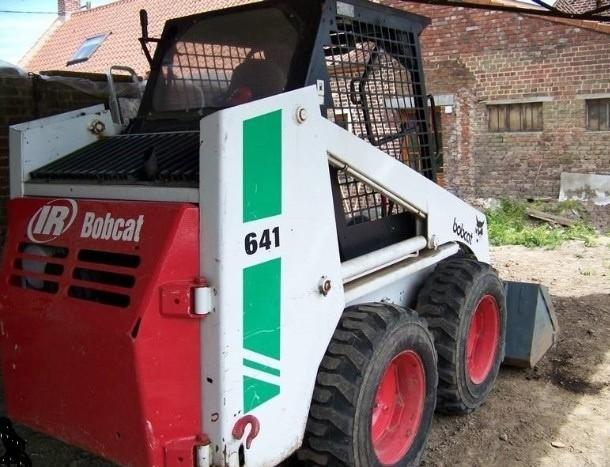 Bobcat 641, 642, 643 Skid Steer Loader Service Repair Workshop Manual DOWNLOAD