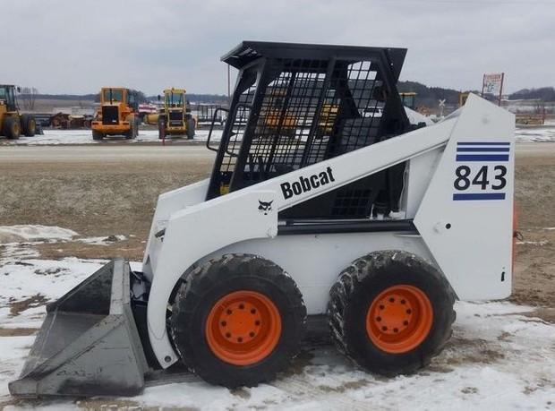 Bobcat 843, 843B Skid Steer Loader Service Repair Workshop Manual DOWNLOAD
