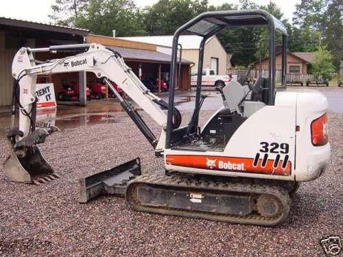 Bobcat 329 Compact Excavator Service Repair Manual DOWNLOAD (S/N AACL11001 , A9K211001 & Above)