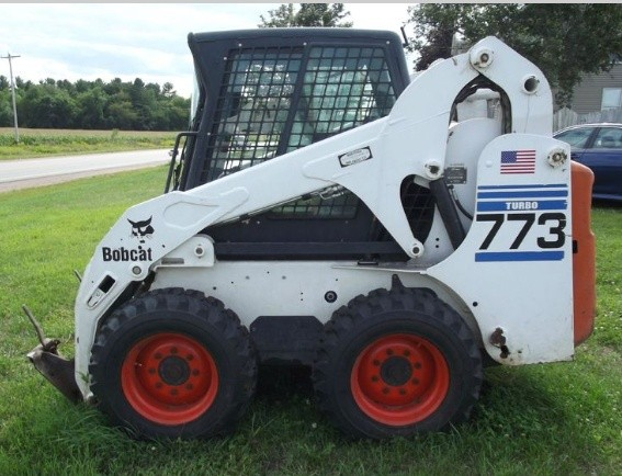 Bobcat 773 G-Series Skid Steer Loader Parts Manual DOWNLOAD