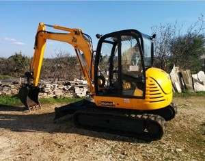 JCB 8052, 8060 Midi Excavator Service Repair Workshop Manual DOWNLOAD
