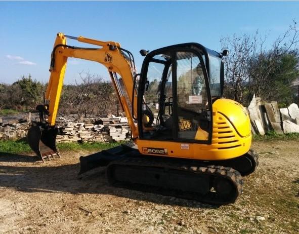 JCB 8052, 8060 Midi Excavator Service Repair Workshop Manual DOWNLOAD