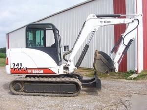 Bobcat 337, 341 Compact Excavator (G Series) Service Repair Manual (S/N 234611001 & Above...)