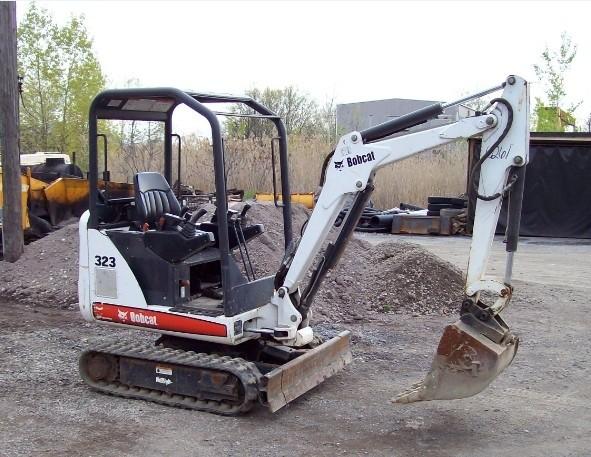 Bobcat 323 Compact Excavator Service Repair Workshop Manual DOWNLOAD (S/N 562411001 & Above)