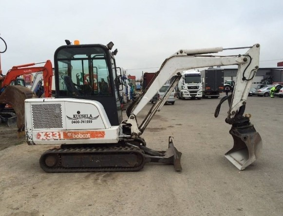 Bobcat X331, X331E, X334 Hydraulic Excavator Service Repair Manual (S/N 512913001 & Above...)