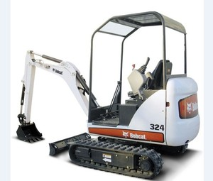 Bobcat 324 Compact Excavator Service Repair Workshop Manual DOWNLOAD (S/N AKY511001 & Above)