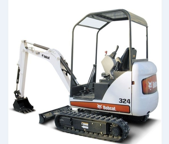 Bobcat 324 Compact Excavator Service Repair Workshop Manual DOWNLOAD (S/N AKY511001 & Above)