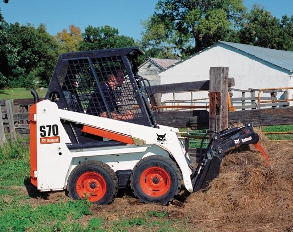 Bobcat S70 Skid - Steer Loader Service Repair Manual (S/N A3W611001 & Above, S/N A3W711001 & Above )