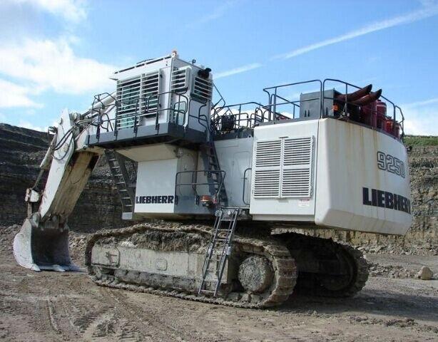 Liebherr R9250 Hydraulic Excavator Service Repair Workshop Manual DOWNLOAD