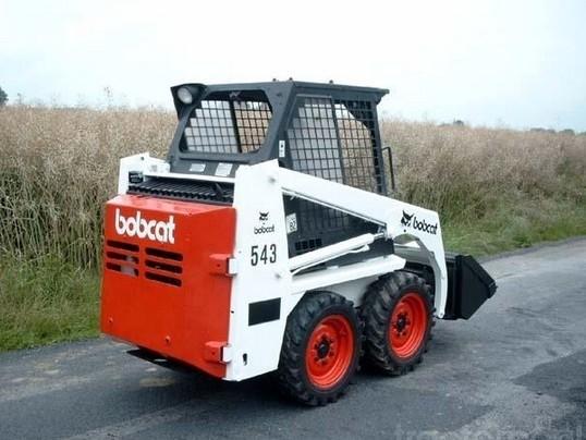 Bobcat 540, 543 Skid Steer Loader Service Repair Manual (S/N 501011999 , 501111999 & Below)
