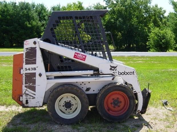 Bobcat 540, 543, 543B Skid Steer Loader Service Repair Manual DOWNLOAD (S/N 501012001 & Above ...)