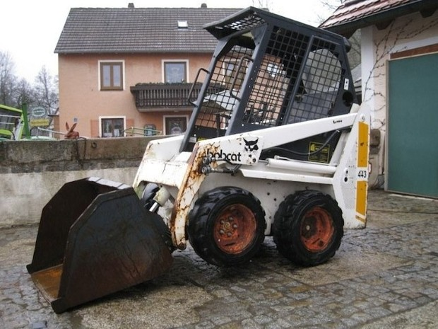 Bobcat 440, 443, 443B Skid Steer Loader Service Repair Workshop Manual DOWNLOAD