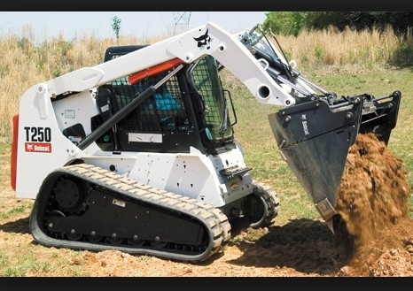 Bobcat T250 Turbo, T250 Turbo High Flow Compact Track Loader Service Repair Manual