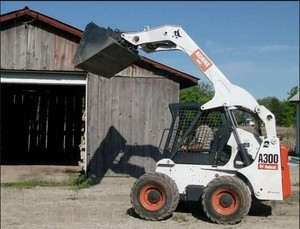 Bobcat A300 All Wheel Steer Loader Service Repair Manual ( S/N 539911001, 540011001 & Above )