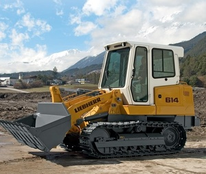 Liebherr LR614 Series 4 Litronic Crawler Loader Service Repair Workshop Manual DOWNLOAD